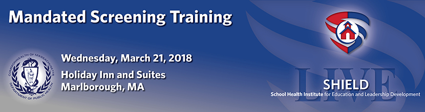 Mandated Screening Training 3/21/2018